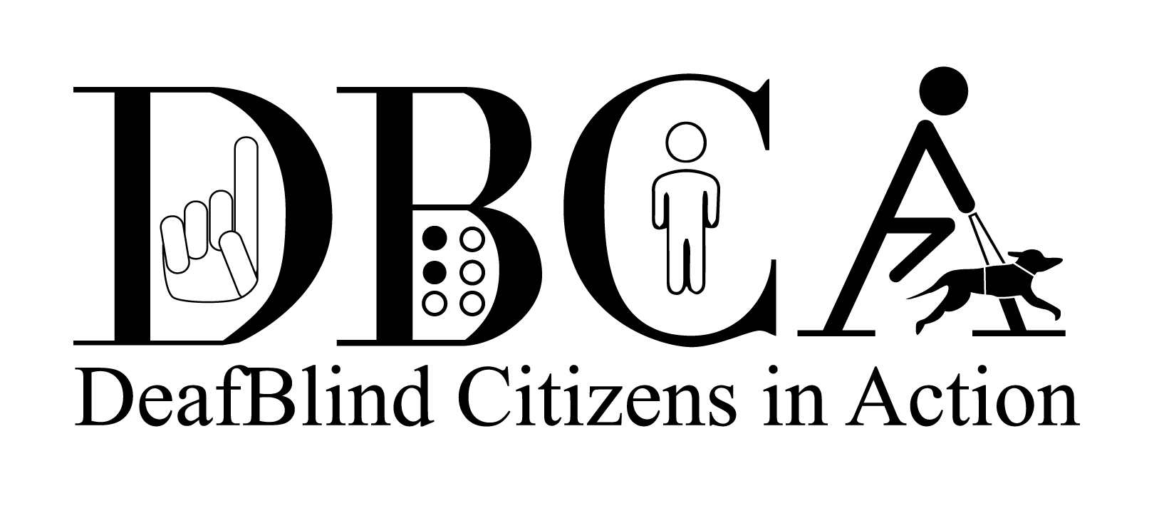 Deafblind Citizens in Action logo