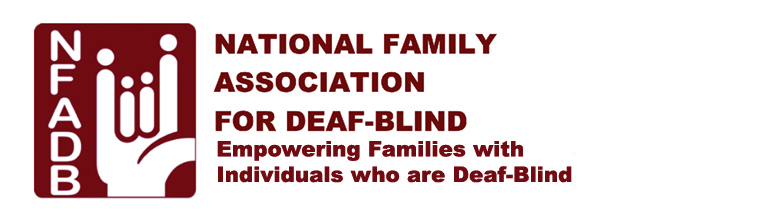 National Family Association for Deaf-Blind logo.