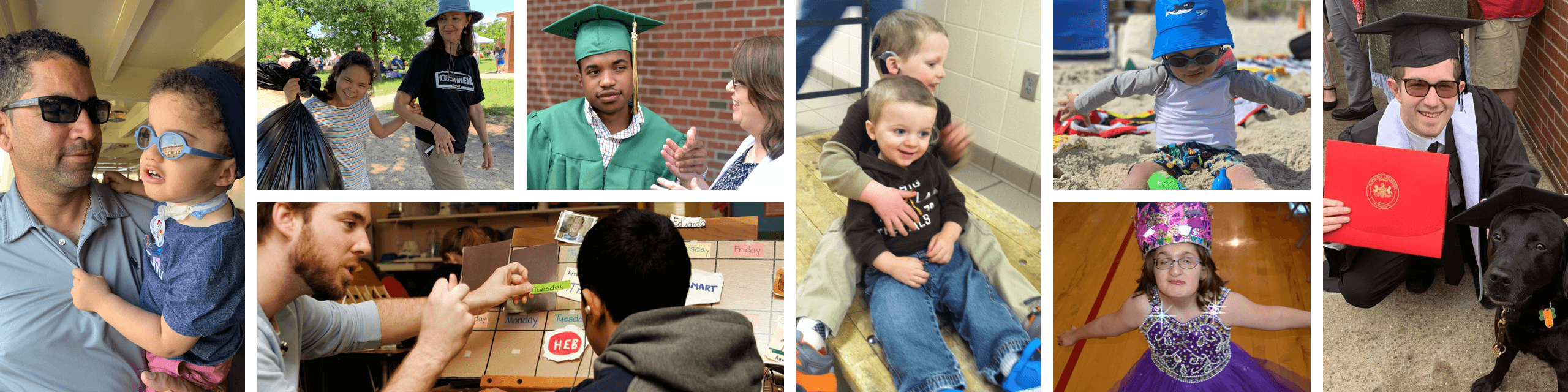 Collage of Children and Graduates